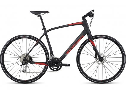 Specialized Sirrus Sport Carbon carbon/red/charcoal 2017