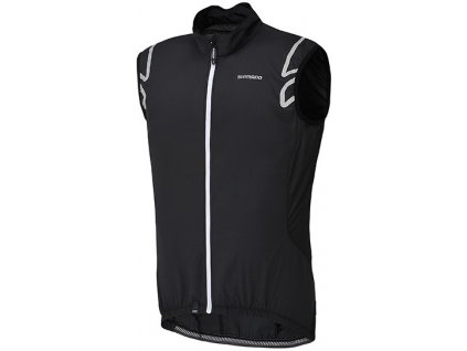 Shimano Compact Wind Vest black/white