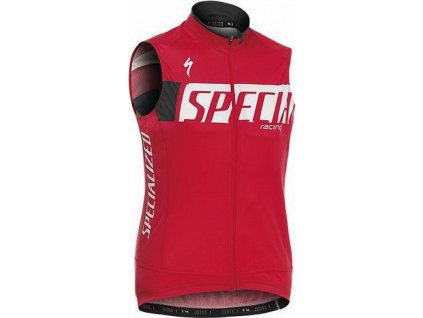 Vesta Specialized Authentic Team Wind Vest red L 2014