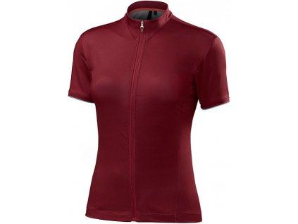 Dres Specialized Women's RBX Comp Jersey burgundy 2017