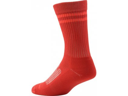 Ponožky Specialized Mountain Tall Sock red 2018