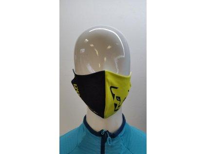 Rouška Dynafit Face Mask neon yellow