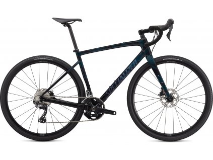 Specialized Diverge Sport Carbon gloss forest green/ice papaya/chrome/wild ferns 2021