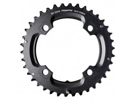 Převodník SRAM MTB 38T 104 S1 49 Chainline AL5 2X10 Long PIN Blast Black (38/24)