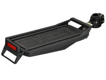 Nosič zadní MaxBike KW-618-02 na sedlovku, černý