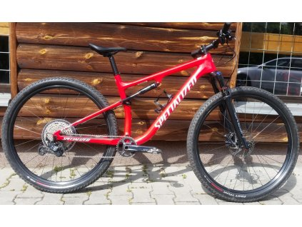 Specialized Epic Comp 29 gloss flo red/metallic white silver 2021 Testovací