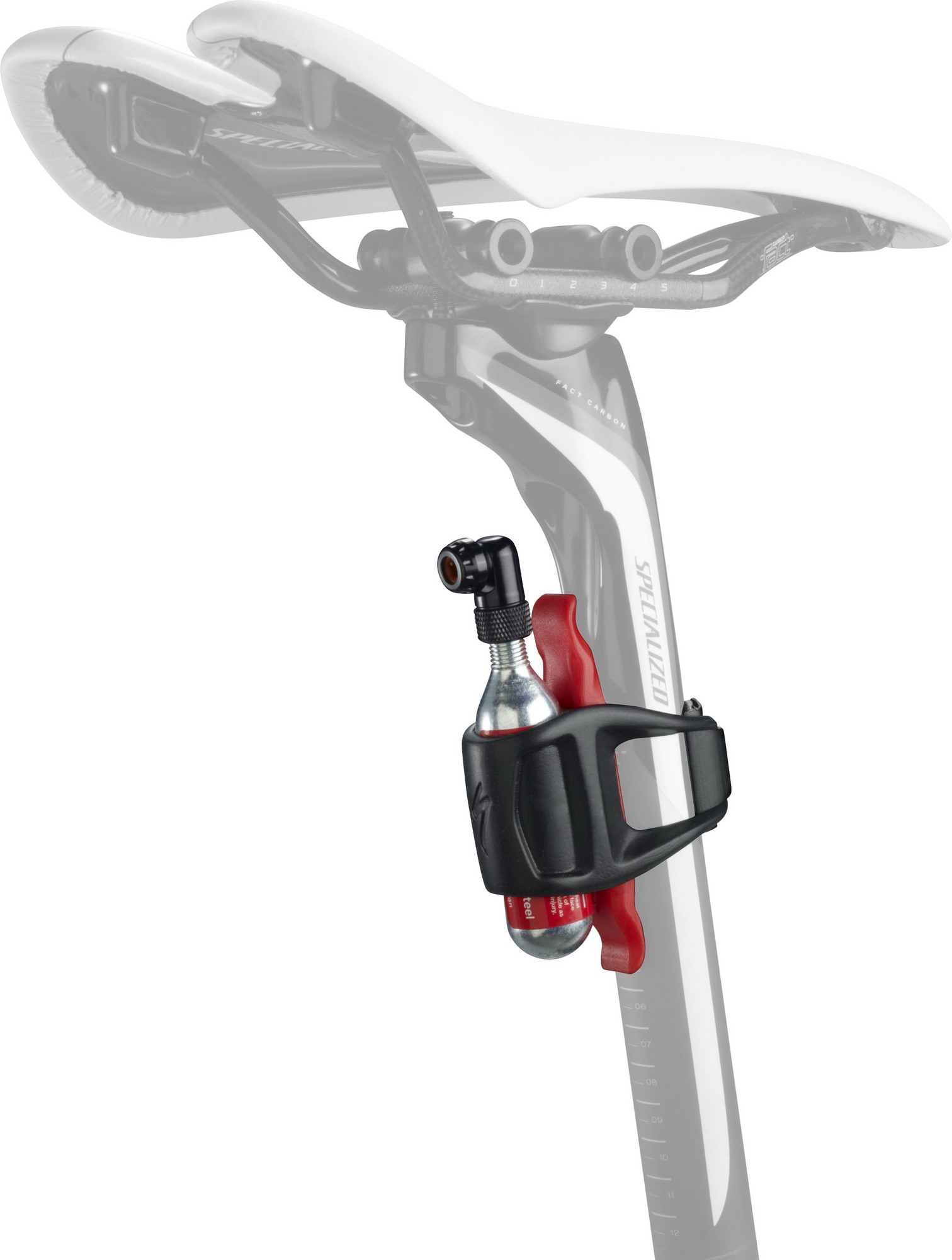 Pumpa Specialized Air Tool CO2 Mini Kit 16g black 2019 Barva: černá