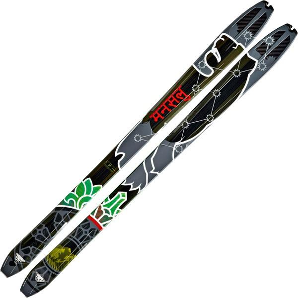 Lyže Dynafit Manaslu 2.0 16/17 Barva: šedá / černá / zelená, Délka: 166 cm