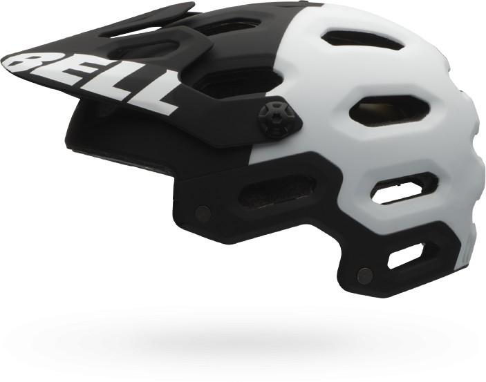 Bell Super 2 MIPS mat black/white agrs M 2016 Barva: černá / bílá, Velikost: M