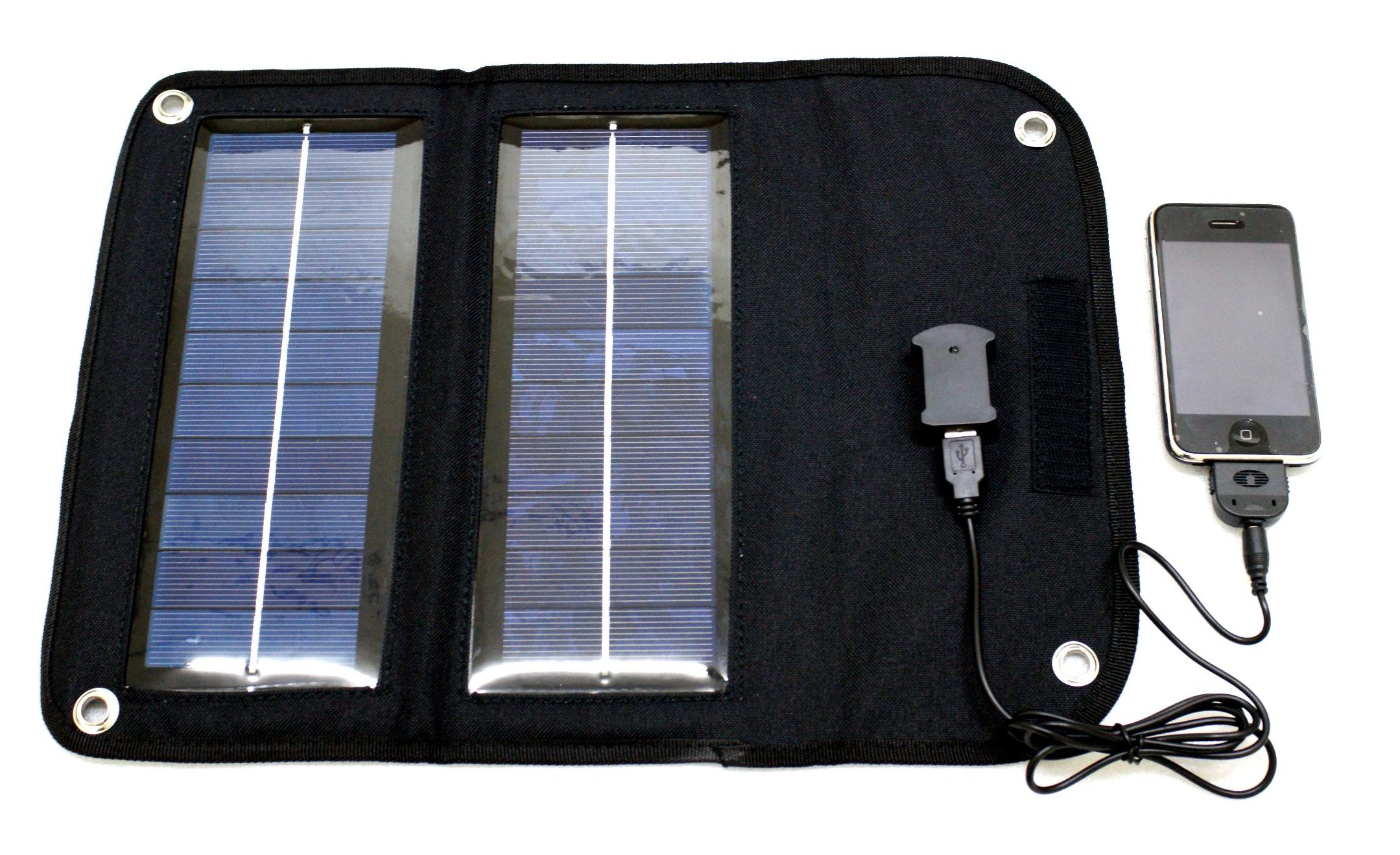 Solární nabíječka Coelsol Sol Catcher SC5 5W Barva: černá