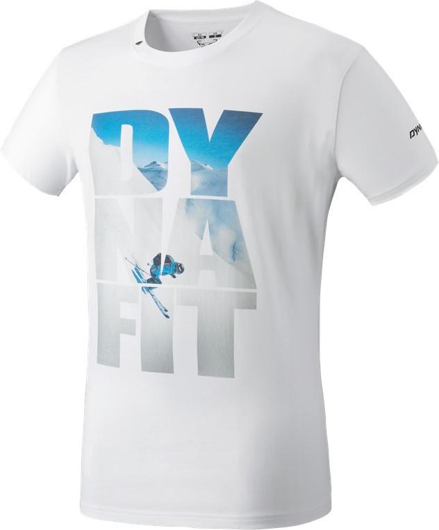 Triko Dynafit Digital CO S/S TEE white 18/19 Barva: bílá, Velikost: M