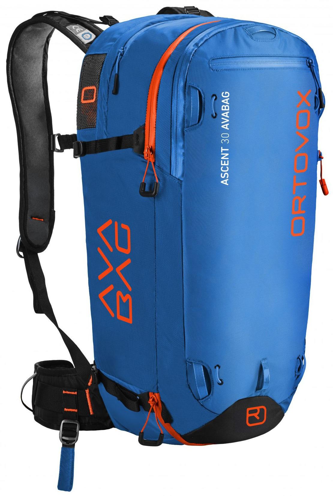 Ortovox Ascent 30 Avabag Kit safety blue 18/19 Barva: modrá, Objem: 30 litrů