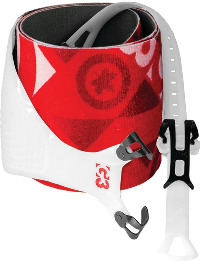 Pásy G3 Alpinist+ Universal 130 mm Barva: červená / bílá, Velikost: M, Šířka: 130 mm