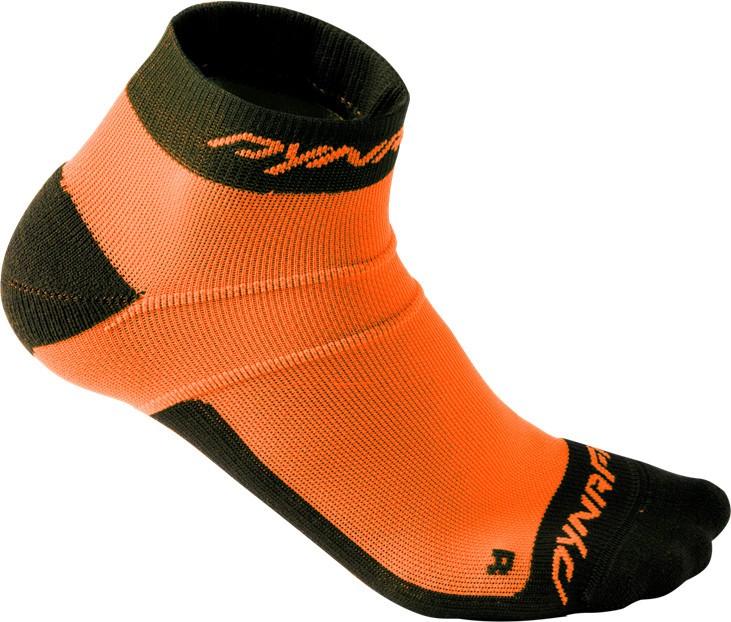 Ponožky Dynafit Vertical Mesh Footie fluo orange Barva: oranžová, Velikost: L