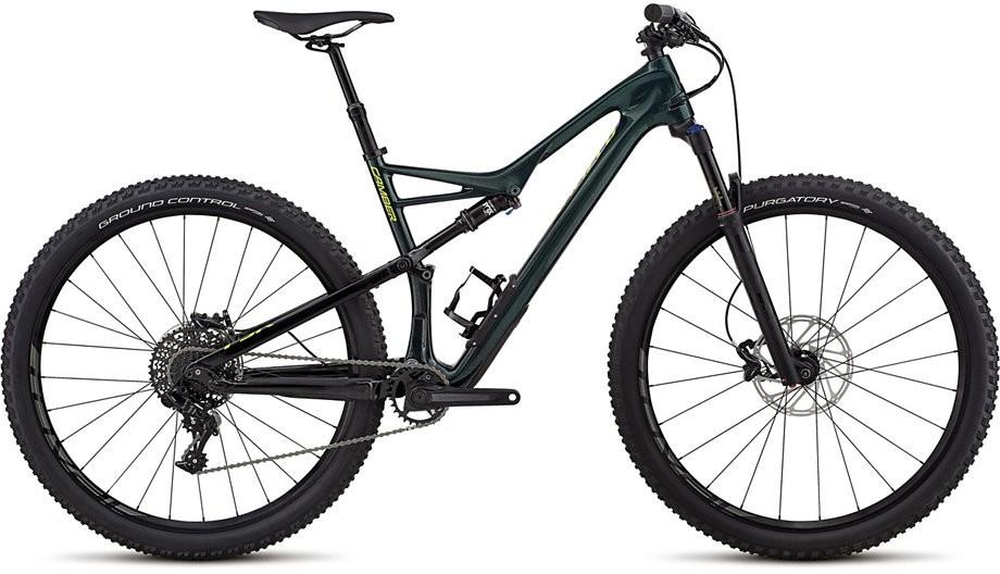 Specialized Camber FSR Men Comp Carbon 29 cav green 2018 Barva: zelená, Velikost: XL