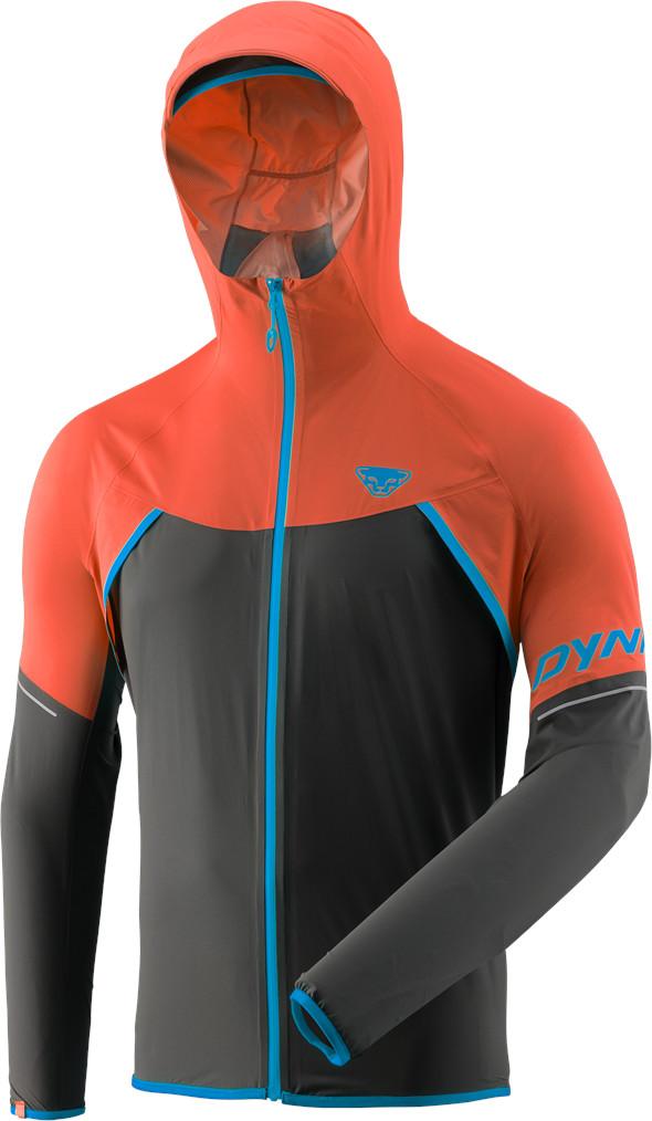 Bunda Dynafit Alpine Waterproof 2.5L general 2019 Barva: oranžová / šedá, Velikost: L