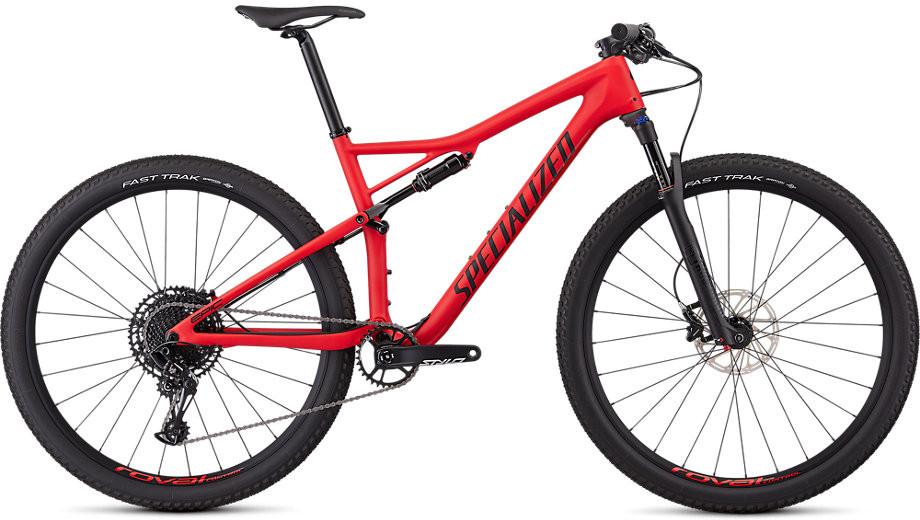 Specialized Epic Men Comp Carbon 29 flo red/black 2019 Barva: červená / černá, Velikost: M