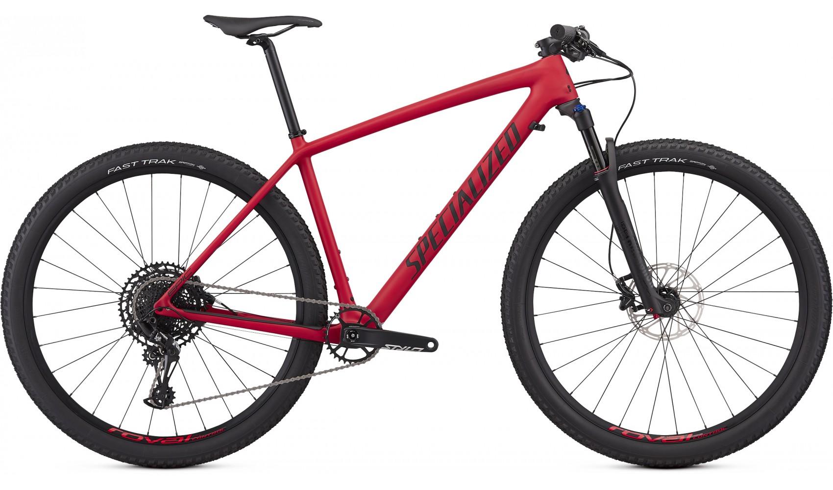 Specialized Epic HT Men Comp Carbon 29 flo red/black M 2019 Barva: matná červená / černá, Velikost: M