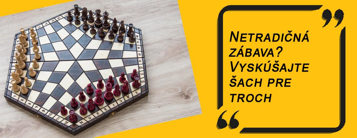 Šachy pre troch