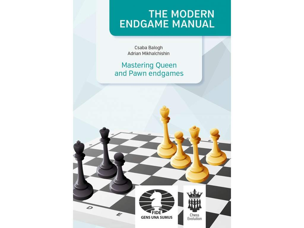 Mastering queen and pawn Endgames 1 cover front