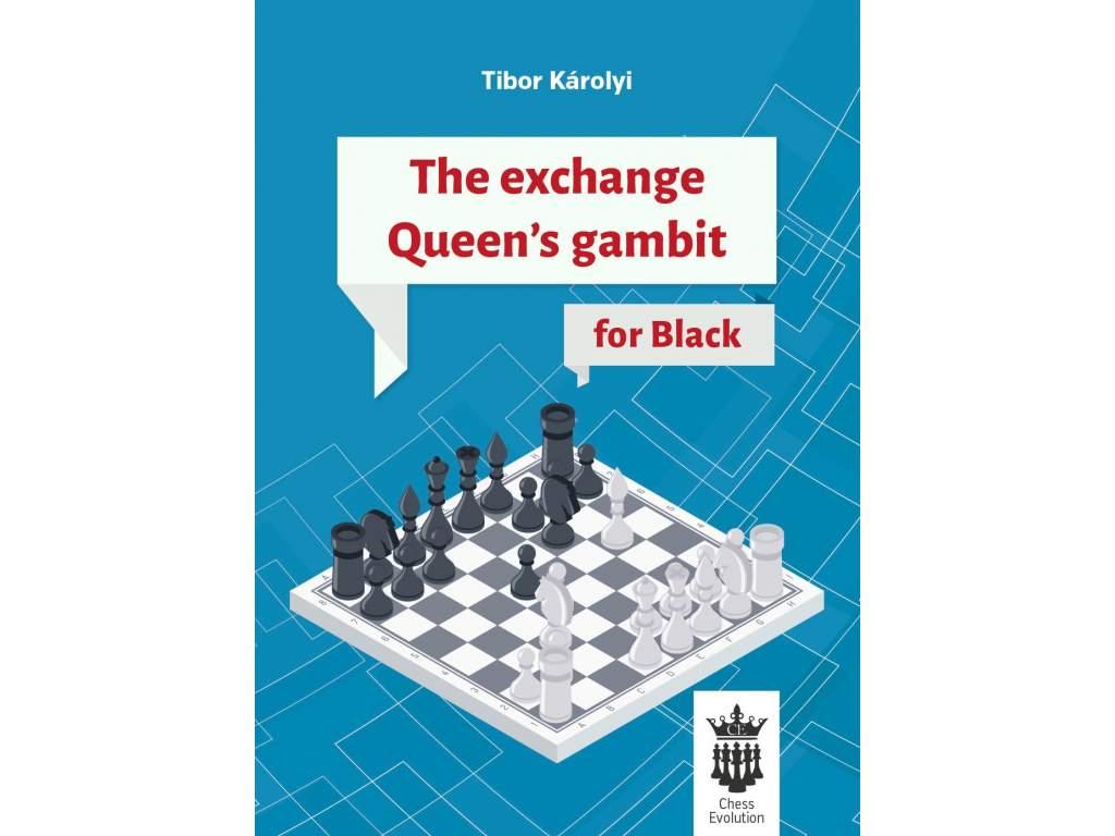 The Exchange Queens Gambit for Black cover front