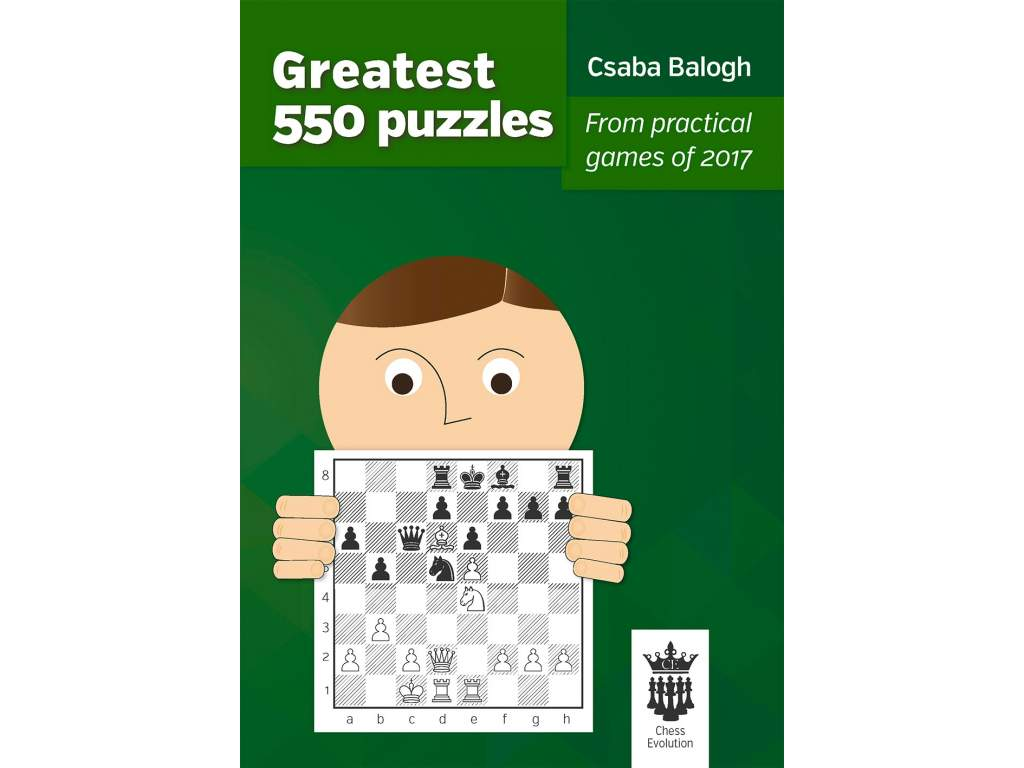 Greatest 550 puzzles cover front