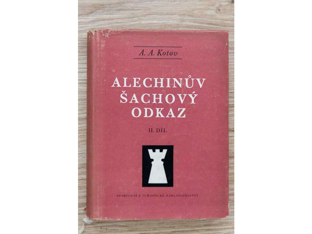 2633 alechinov sachovy odkaz ii