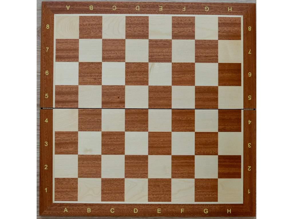 Šachovnica z javora veľká skladacia s notáciou  + doprava zdarma