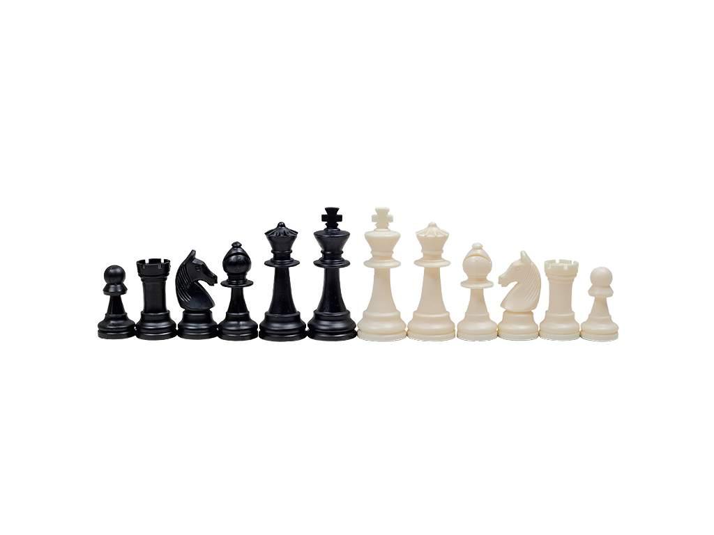 Šachové figúrky Staunton krémové  + doprava zdarma