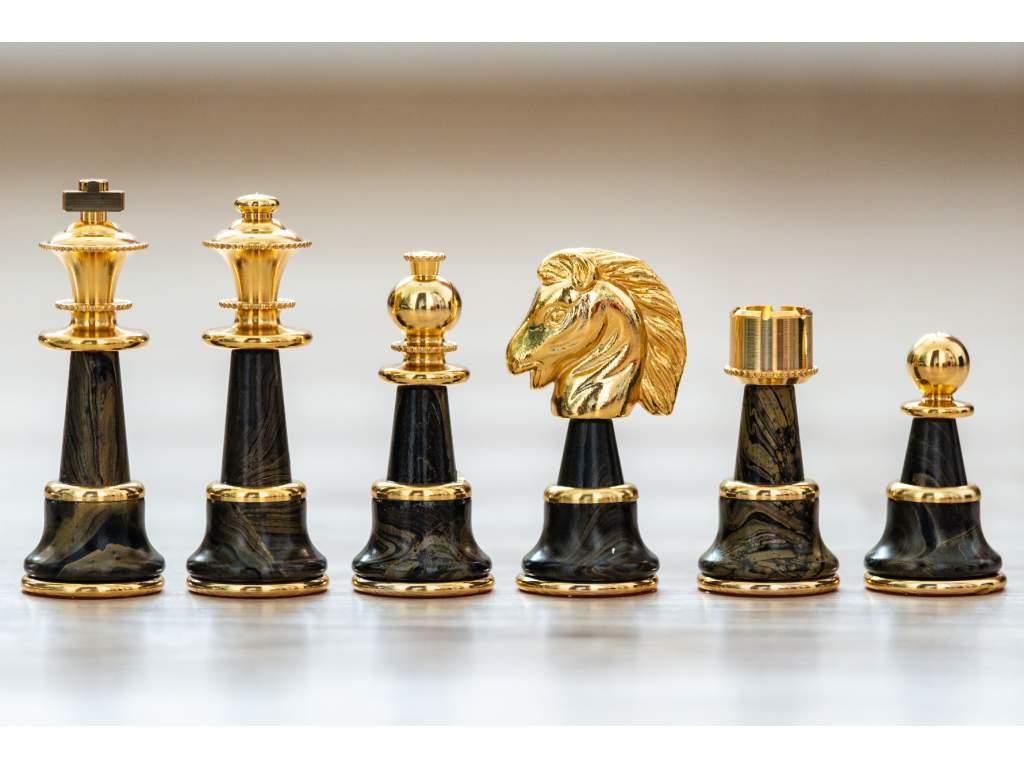 Šachové figúrky Staunton fantasy  + doprava zdarma + darček