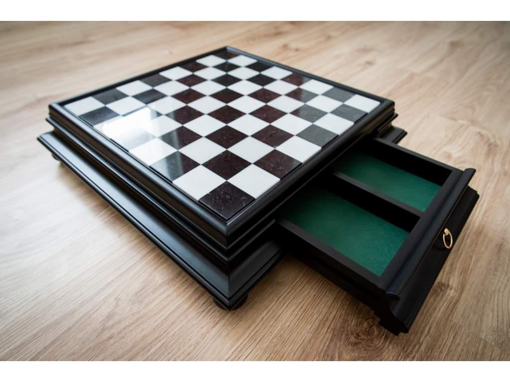 Alabastrová šachovnica  + doprava zdarma