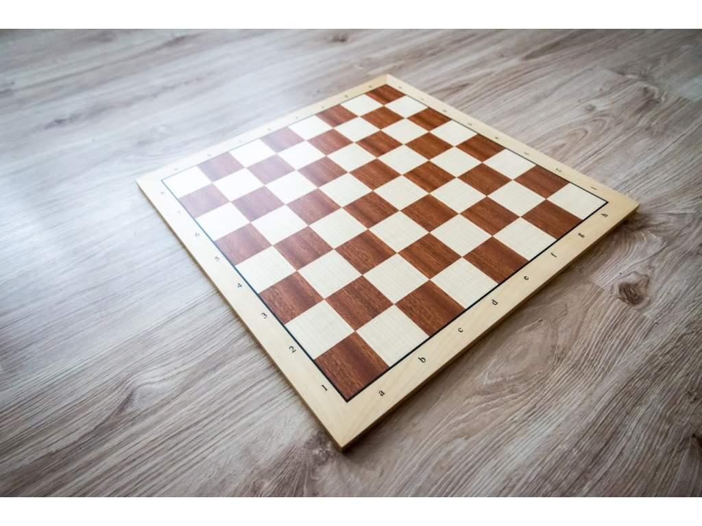 Šachovnica mahagón profesionál  + doprava zdarma