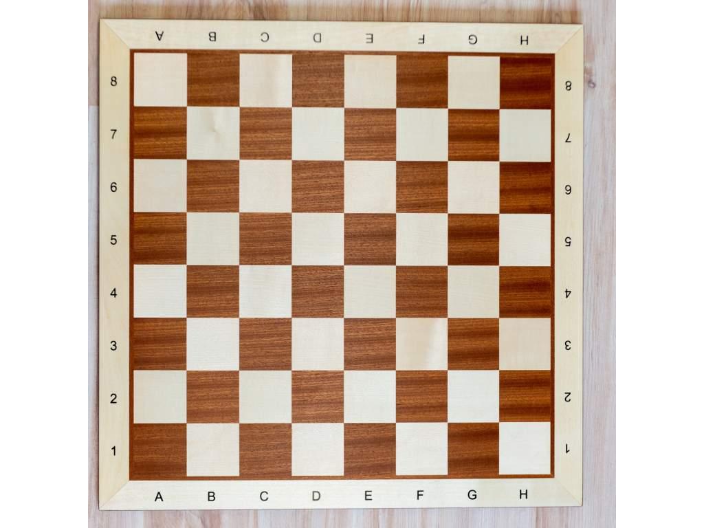 Šachovnica z mahagónu veľká  + doprava zdarma