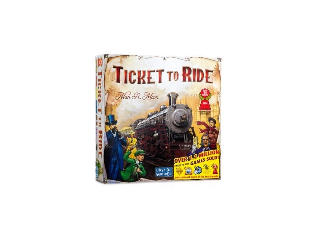 Jízdenky, prosím! USA (Ticket to Ride)  + doprava zdarma