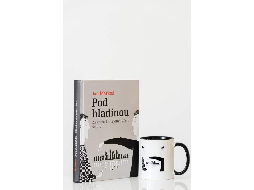 Hrnček a kniha Pod hladinou  + doprava zdarma