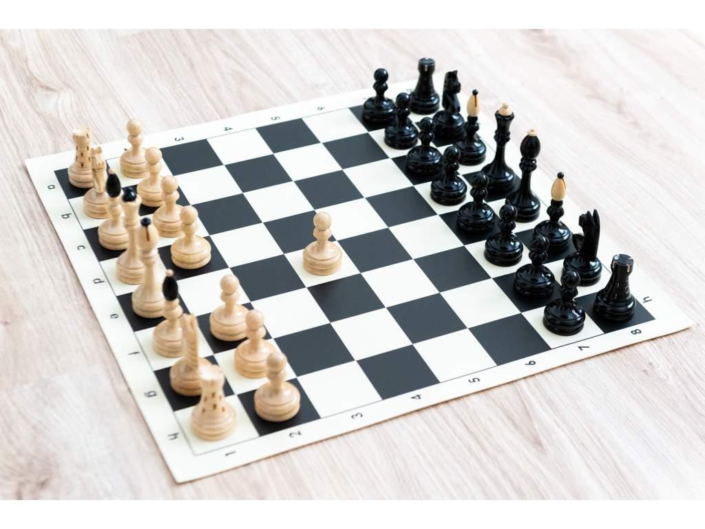 Česká klubovka originál s čiernou šachovnicou  + doprava zdarma
