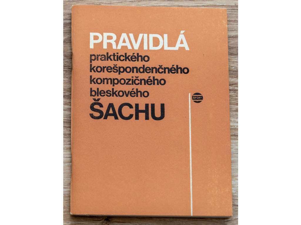 3809 pravidla praktickeho korespondencneho kompozicneho a bleskoveho sachu 1983