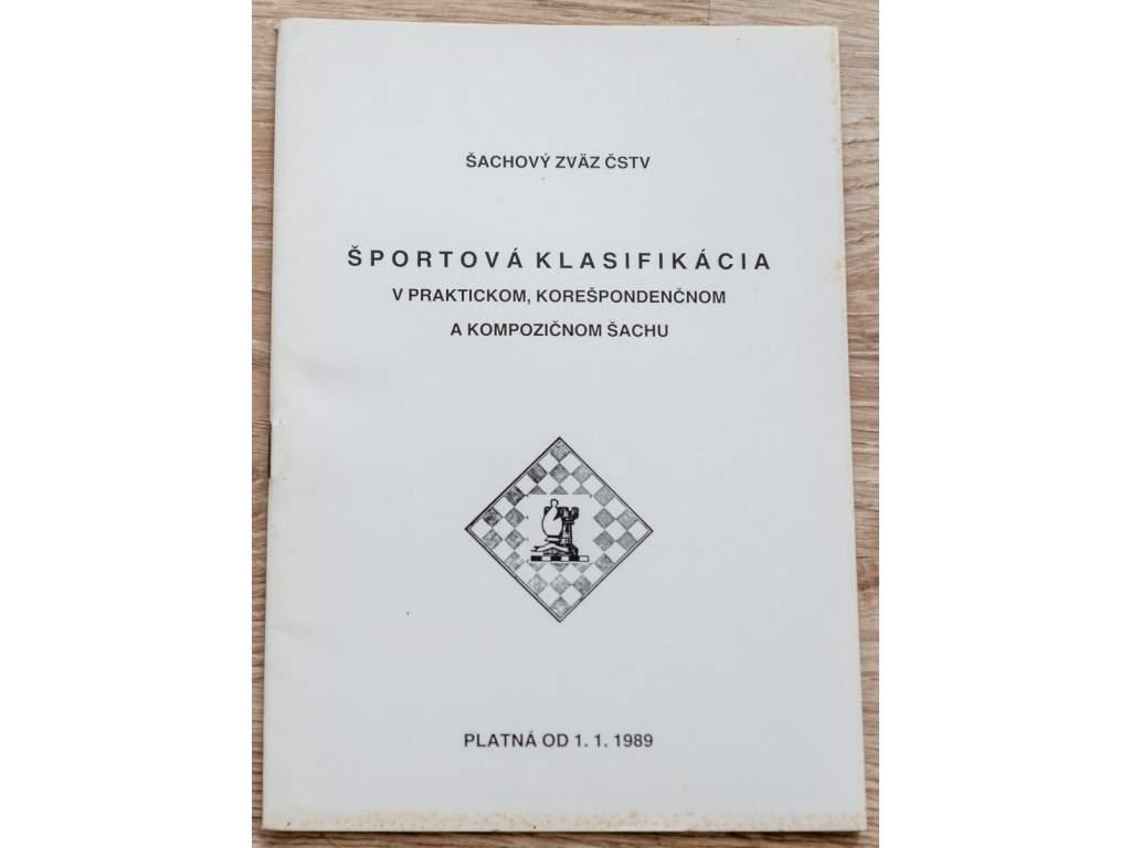 4175 sportova klasifikacia v praktickom korespondencnom a kompozicnom sachu 1989