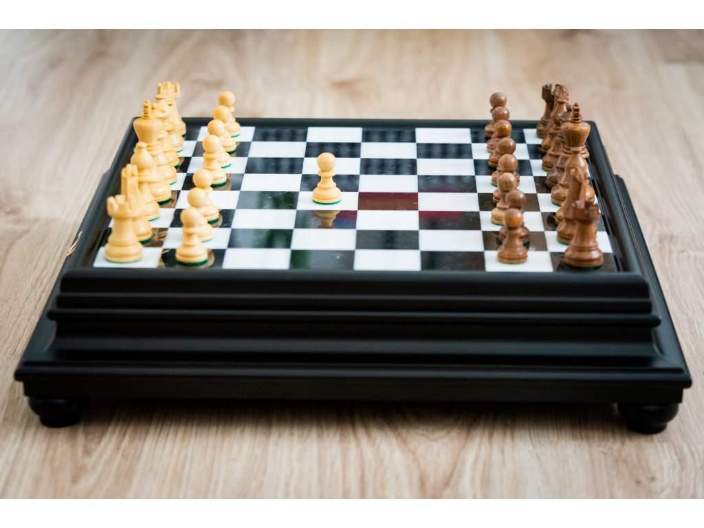 Šachová súprava French Alabaster  + doprava zdarma + darček