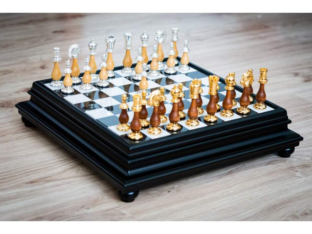 Šachová súprava Alabaster orient  + doprava zdarma