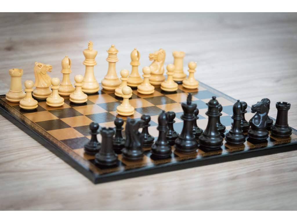 Šachová súprava Gold Eben elegance  + doprava zdarma + darček