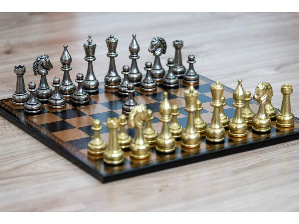 Šachová súprava Gold monarch  + doprava zdarma + darček