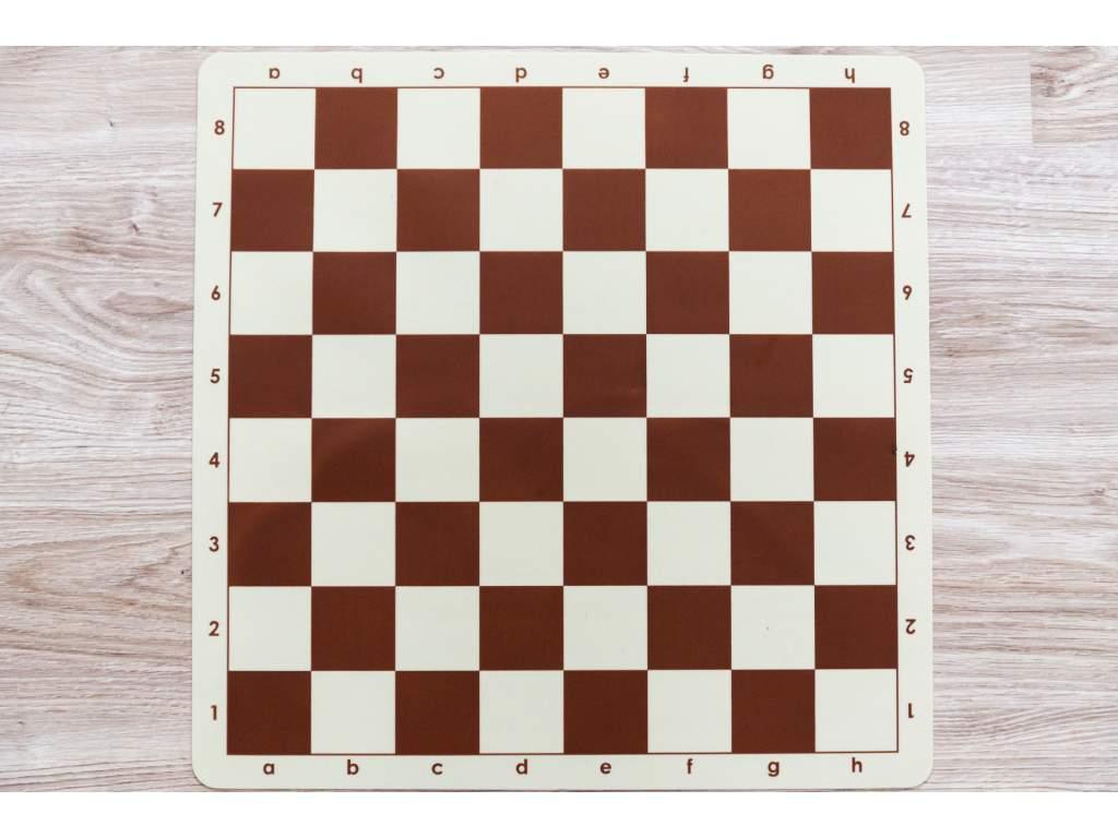 Nezlomiteľná šachovnica hnedá veľká