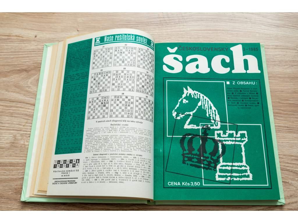 Československý šach, ročníky 1935 - 1989