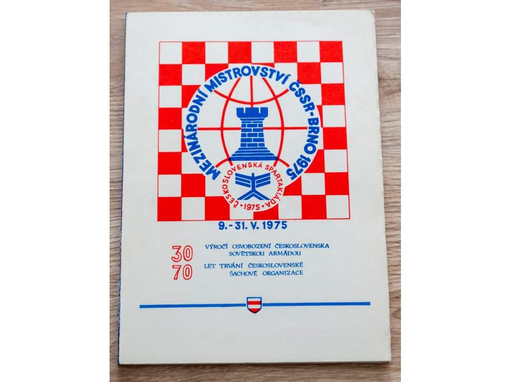 Medzinárodní mistrovství ČSSR-Brno 1975