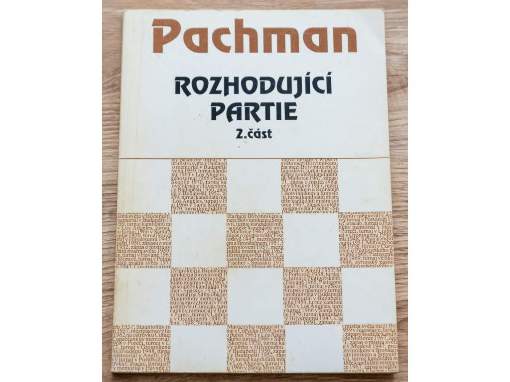 Pachman; Rozhodující partie 2