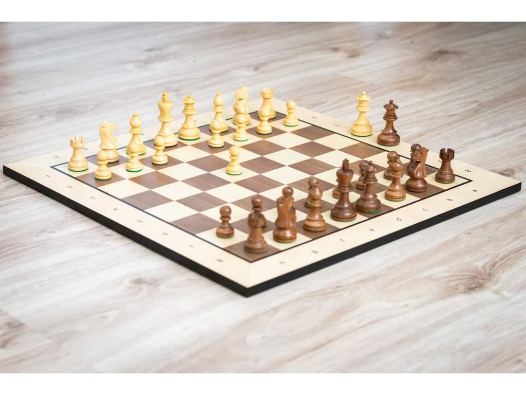 Drevená šachová súprava klasik agát  + doprava zdarma