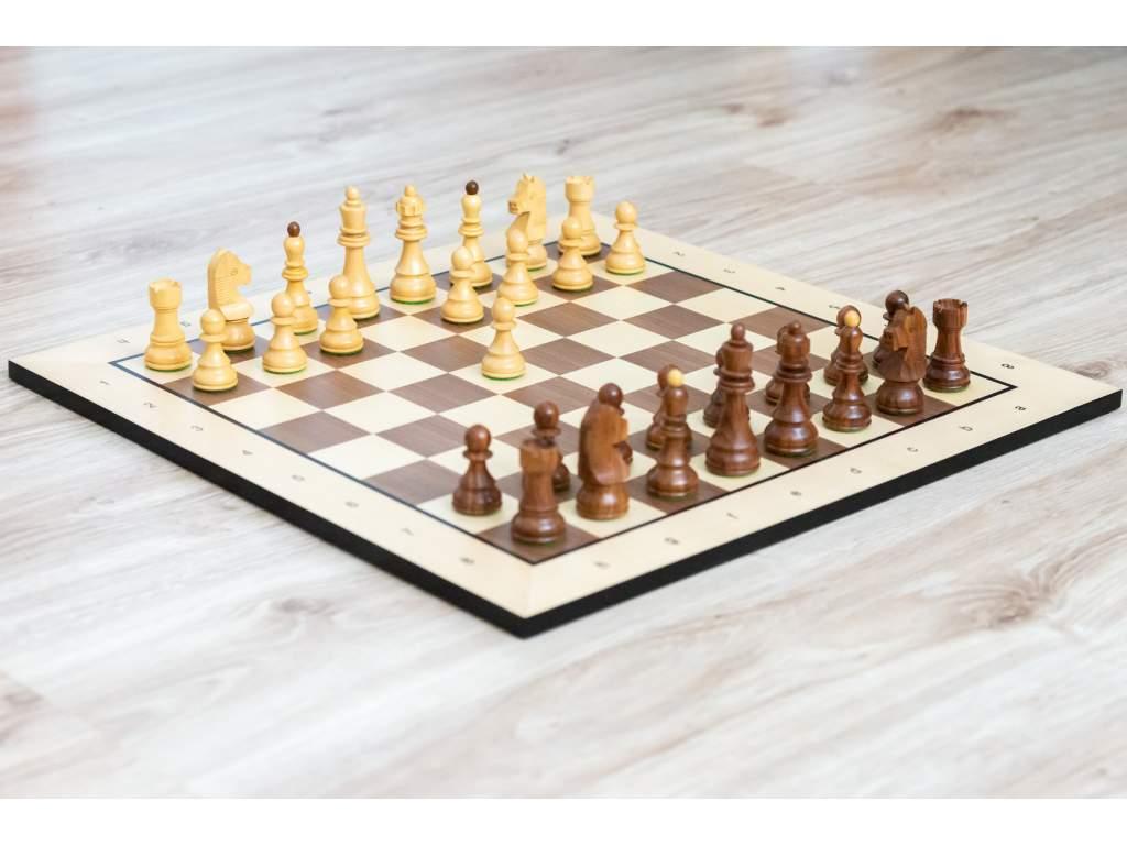 Drevená šachová súprava Caissa klasik  + doprava zdarma