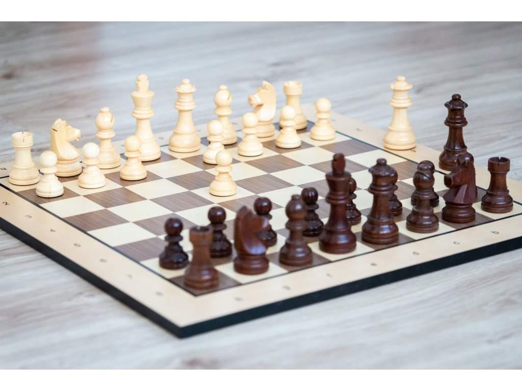Drevené šachy staunton  + doprava zdarma