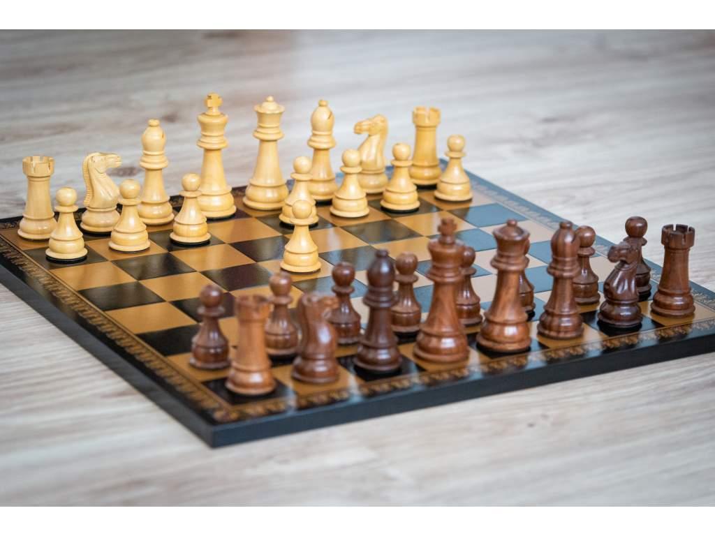 Šachová súprava Staunton orient  + doprava zdarma + darček